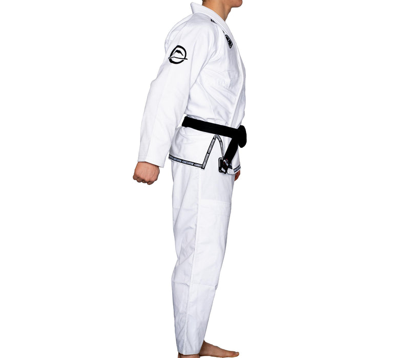 fuji submit everyone bjj gi blanc side