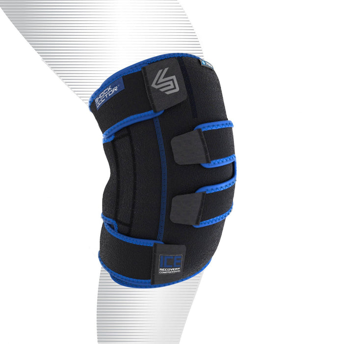 Shock Doctor Ice Recovery Compression Wrap pour Genoux