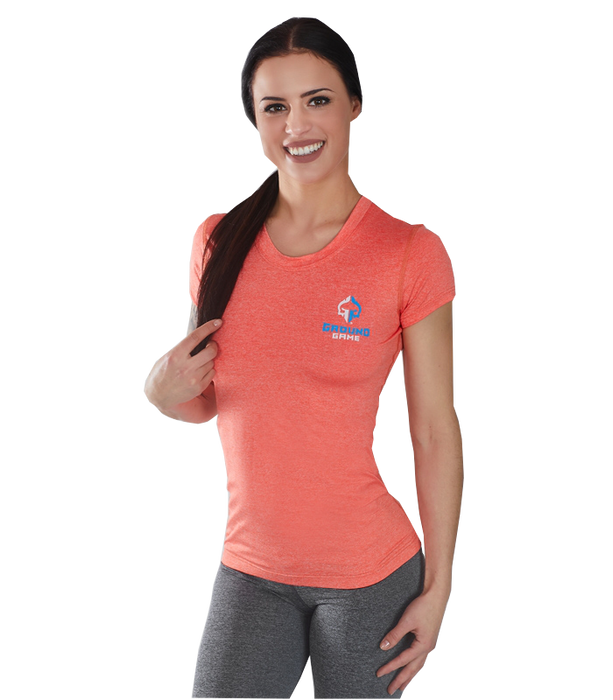 Rashguard Ground Game Melange - Orange