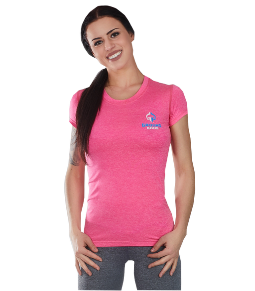 Rashguard Ground Game Light Melange - Rose