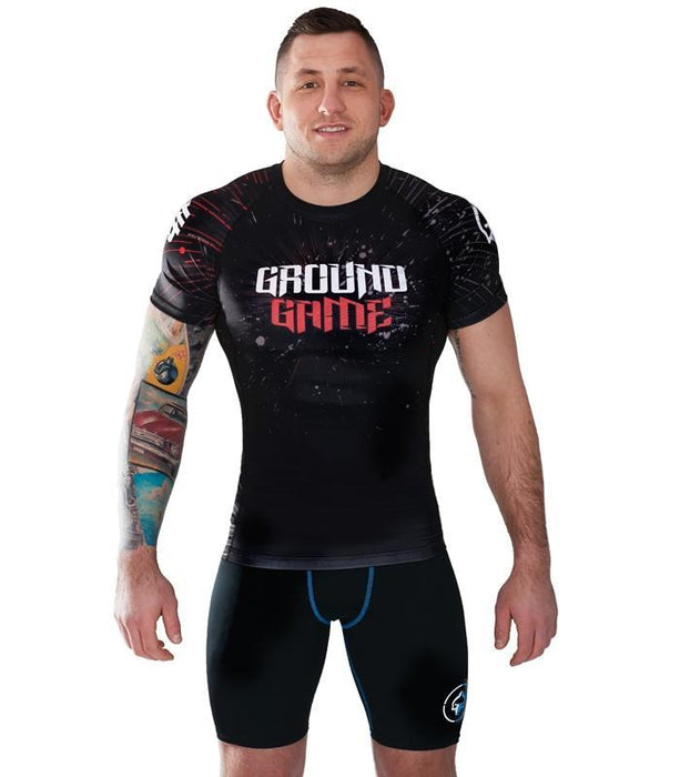 Rashguard - Ground Game Samurai