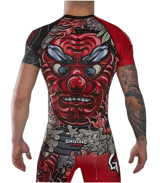 Rashguard Manches Courtes - Ground Game Tengu