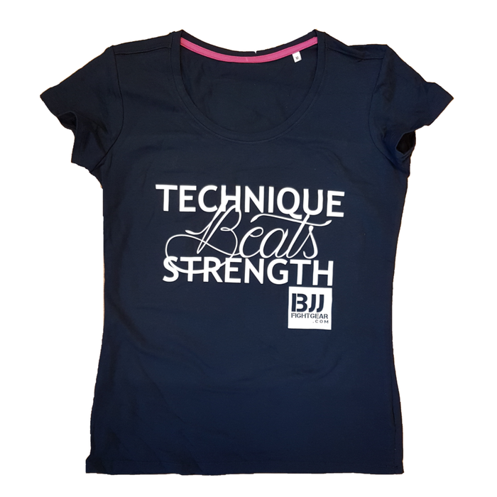 T-Shirt - Technique beats Strength