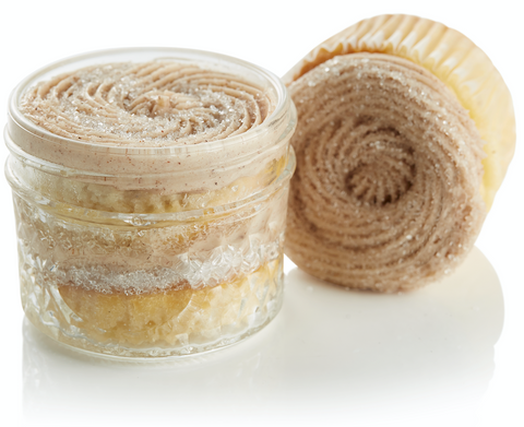 VG/GF Cinnamon Sugar Cupcake in a Jar