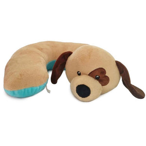 SNUG-Beige Dog Pillow w/Heart Eye
