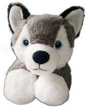 Load image into Gallery viewer, WILLOW the Husky Curved Dog Pillow