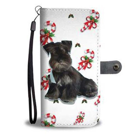 candy cane collection your pet's photo cell phone wallet