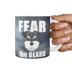 Fear The Beard Full Wrap Mug