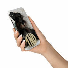 Load image into Gallery viewer, Custom Monogram Phone Case With Your Pet Picture