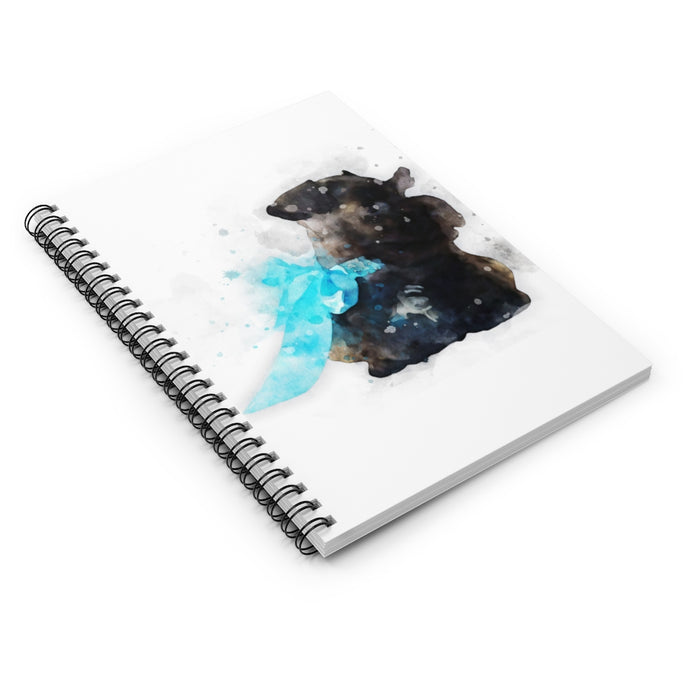 Custom Watercolor Art Your Pet's Photo Spiral Journal