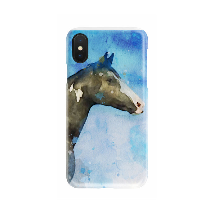 Custom Watercolor Art Your Pet Photo Slim Phone Case
