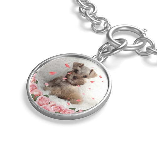 Custom Your Pet's Photo Chunky Chain Bracelet