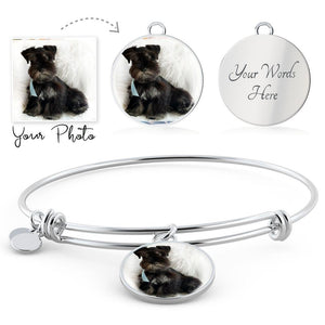 Personalized Your Pet's Photo Charm Bracelet