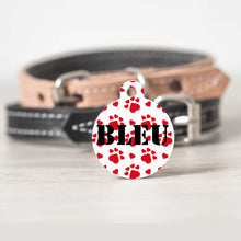 Load image into Gallery viewer, Love Paws Pet ID Tags - Limited Edition For Valentine's Day