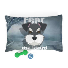 Schnauzer Fear The Beard Pet Bed