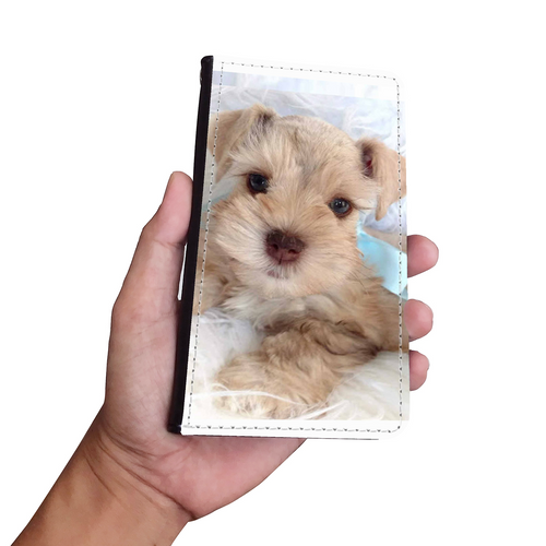 Classic Custom Your Pet's Photo Phone Wallet Case