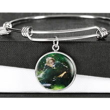 Load image into Gallery viewer, Custom Watercolor Art Your Pet Photo Charm Bracelet