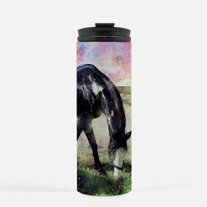 Custom Watercolor Art Your Pet Photo Tumbler