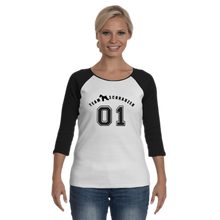 Load image into Gallery viewer, Team Schnauzer Women's Raglan TShirt