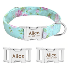 Load image into Gallery viewer, Personalized Dog Collar
