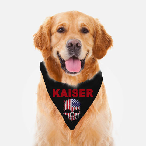 Personalized Pet Bandana For Boy Dogs