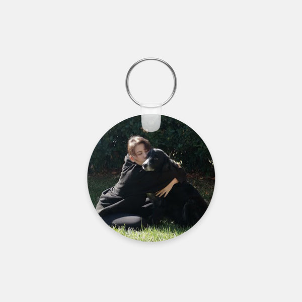 Custom Your Pet's Picture Keychain
