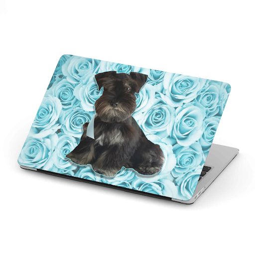 Custom Your Pet's Photo Mac Book Cover