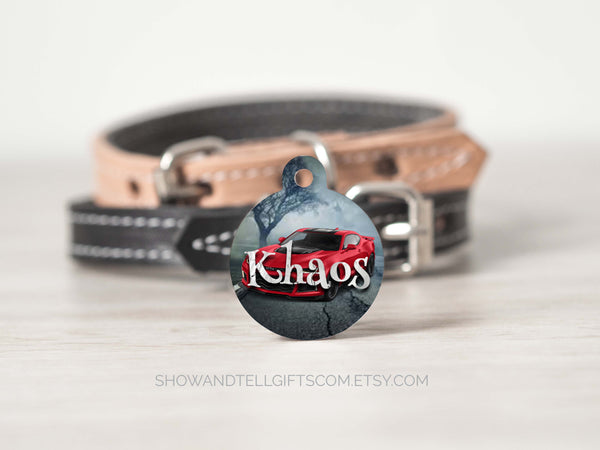 Cool Dog ID Tags For Boy Dogs