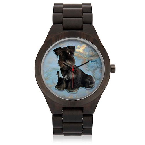 Custom Your Pet's Photo Real Wood Watch