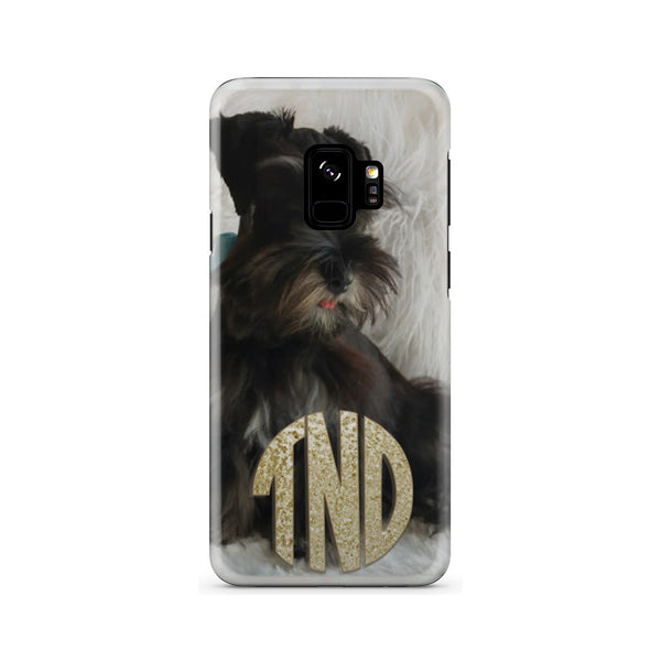 Custom Monogram Phone Case With Your Pet Picture
