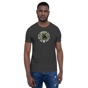 My Best Friend Has Paws Custom Unisex T-Shirt
