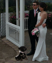 Load image into Gallery viewer, Elegant Ring Bearer Dog Collar