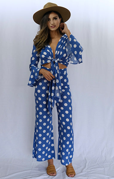 Beverly Hills Polka Dot Turista Pant