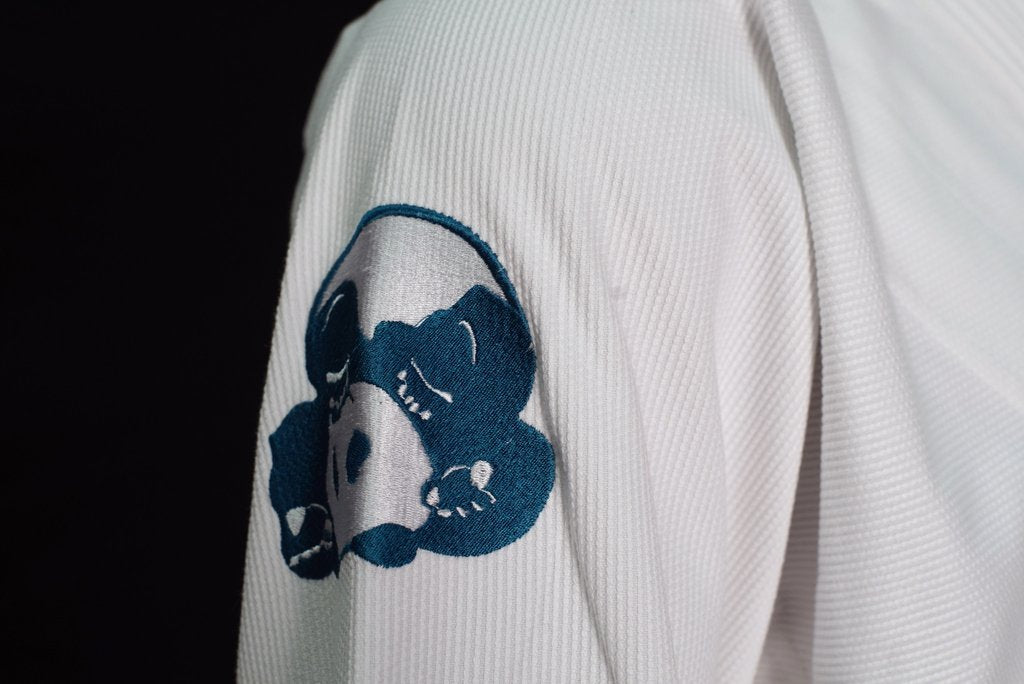 Inverted Gear Light Pearl Weave BJJ