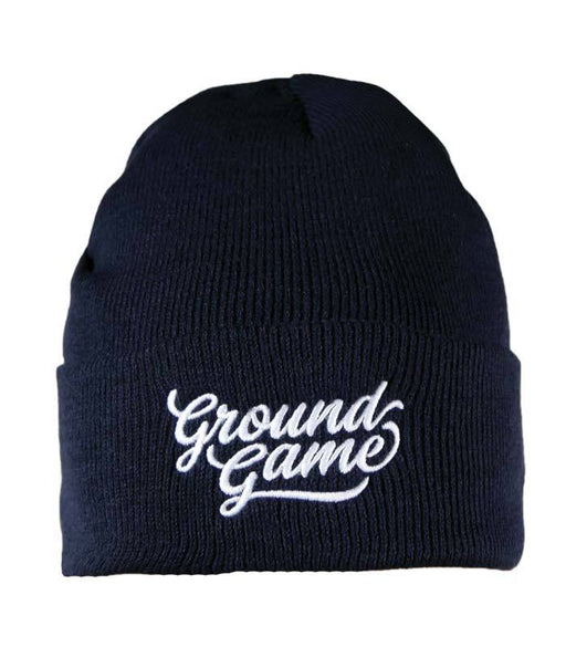 Ground Game Classic 2 Winter Hat Navy Blue