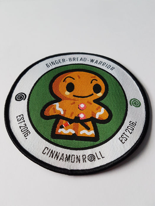 Cinnamon Roll's Ginger Bread Warrior Patch