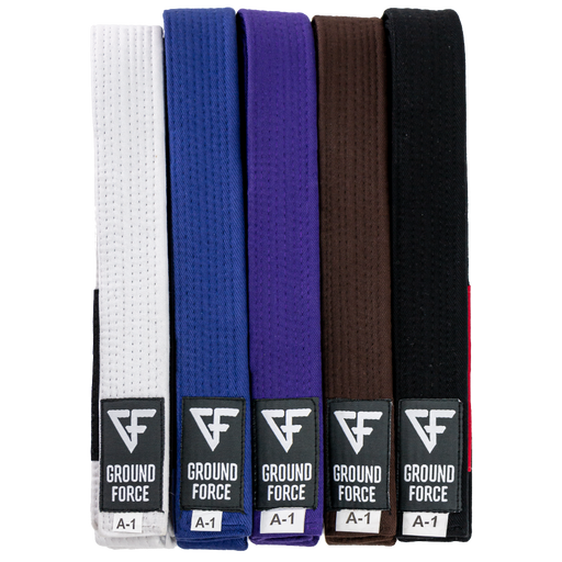 Ground Force BJJ Belt