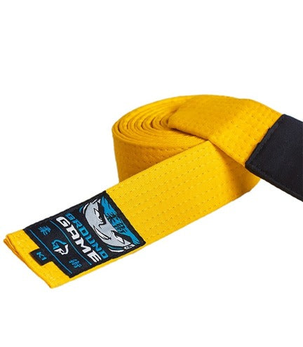 Ground Game BJJ Kids Belt Yellow