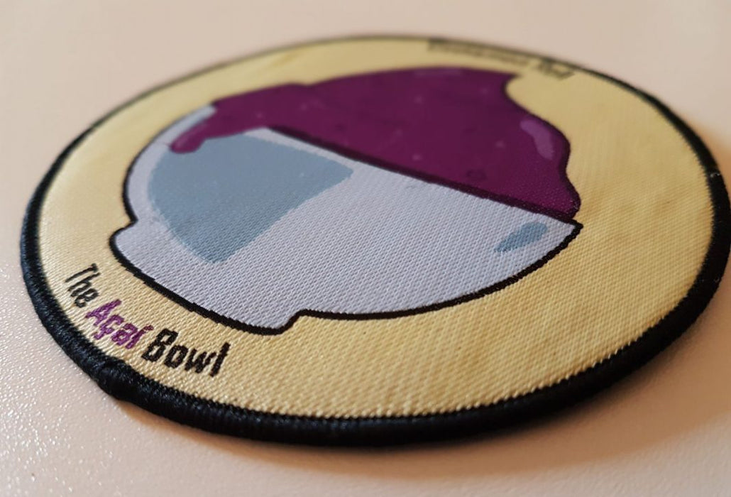 Cinnamon Roll's Açaì Bowl Patch