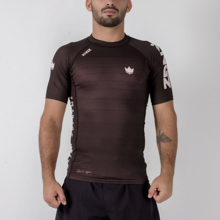 Kingz Ranked v5.0 Rashguard Short Sleeve