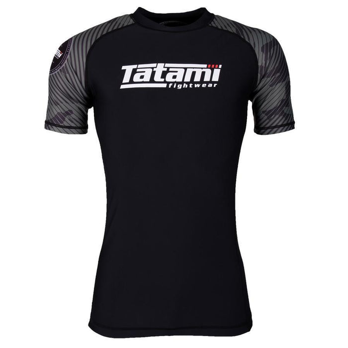 Tatami Renegade Green Camo Korte Mouw Rash Guard
