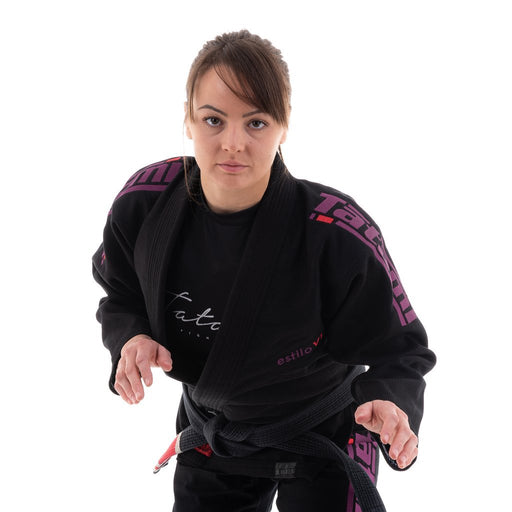 Tatami Ladies Estilo 6.0 BJJ Gi Black