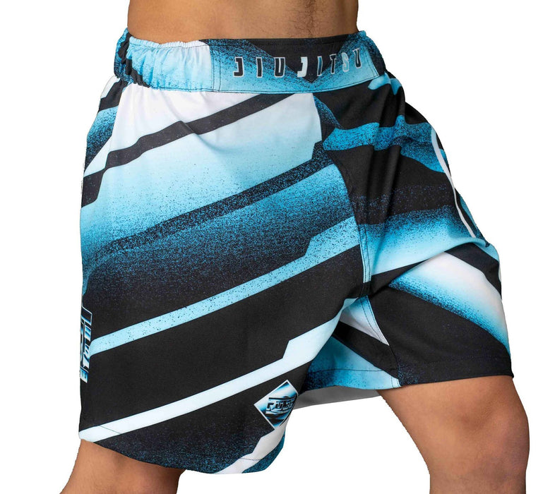 Fuji Ice Grappling Shorts side right