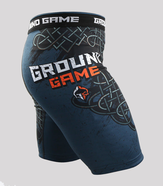 Left side view Ground Game Odin Vale Tudo Shorts