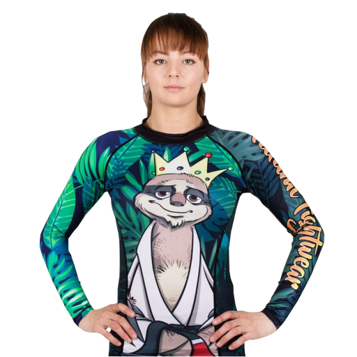 Tatami Dames King Sloth Rash Guard