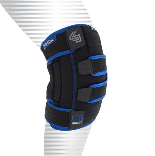 Shock Doctor Ice Recovery Compressie Knie Omslag