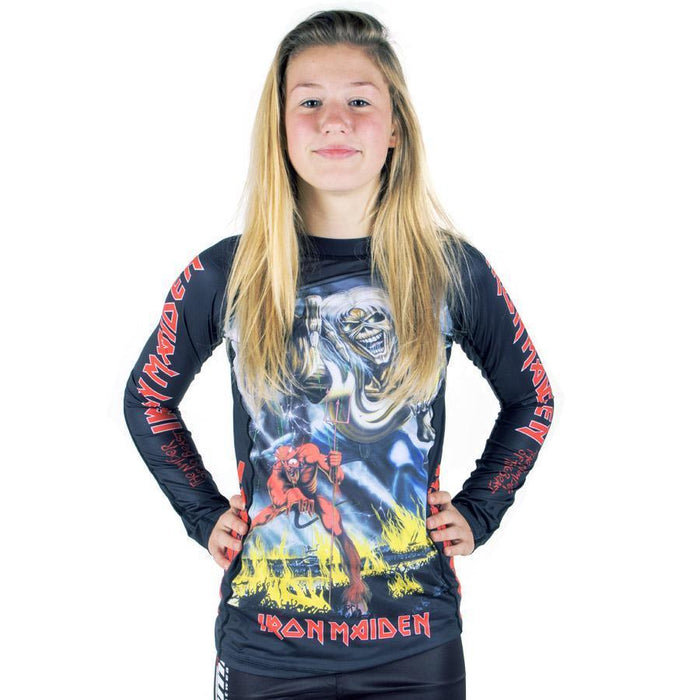Tatami Dames Iron Maiden Number of the Beast Rash Guard