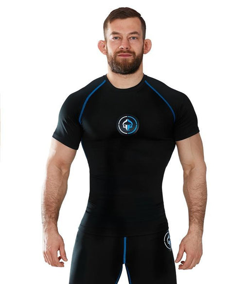 Ground Game Athletic Rashguard Korte Mouw
