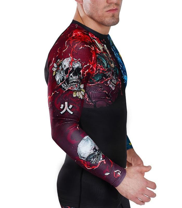 Ground Game Bushido II Rashguard Zwart