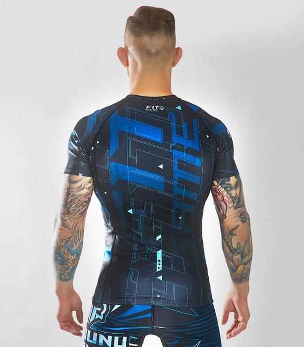 Ground Game Shapes Rashguard